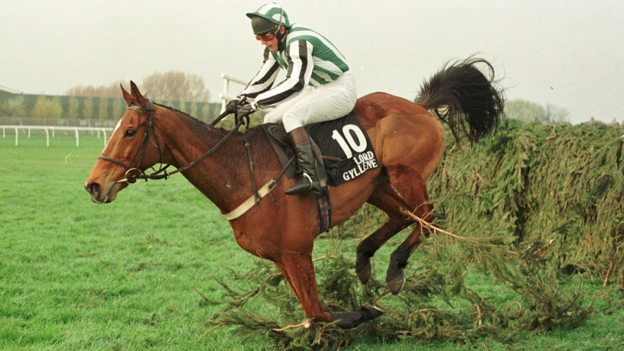 Tribute to Aintree winner Lord Gyllene